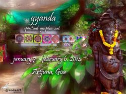 artjuna, goa,  7. january – 6. february 2014