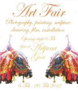 Art Fair, artjuna, goa, 6.–20. februar 2012
